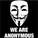 Naklejka symbol anonymous nr 741