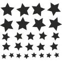 Naklejka gwiazdy nr 754
