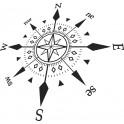 Naklejka kompas nr 795
