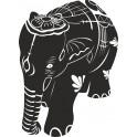 Naklejka słoń indyjski nr 810