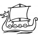 Naklejka statek żaglowiec nr 46