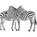 Naklejka zebra nr 814