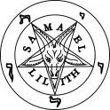 Naklejka pentagram nr 828