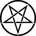 Naklejka pentagram nr 829