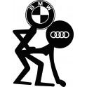 Naklejka BMW Audi nr 830