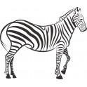 Naklejka zebra nr 874