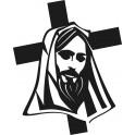 Naklejka Jezus na krzyżu nr 899