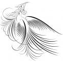 Naklejka ptak nr 920