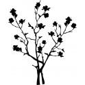 Naklejka drzewo magnolia nr 923