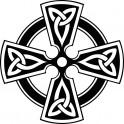 Naklejka Krzyż celtycki nr 938