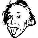 Naklejka Albert Einstein nr 973