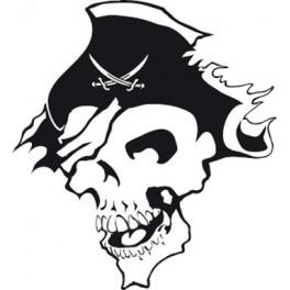 Naklejka Pirat nr 1035