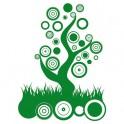 Naklejka drzewo abstrakcja nr 1037