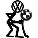 Naklejka Volkswagen BMW  nr 1043