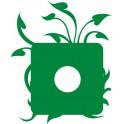 Naklejka ramka rośliny nr 1127