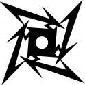 Naklejka ramka Metallica nr 1128