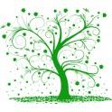 Naklejka drzewo nr 1137