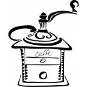 Naklejka młynek do kawy nr 1144