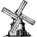 Naklejka wiatrak nr 11147