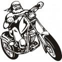 Naklejka motocykl nr 1174