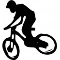 Naklejka rowerzysta nr 1177