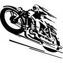 Naklejka motocykl nr 1184