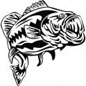 Naklejka ryba nr 1194