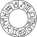Naklejka Znaki zodiaku nr 1219