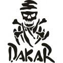 Naklejka Dakar nr 1256