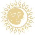 Naklejka słońce księżyc nr 1297
