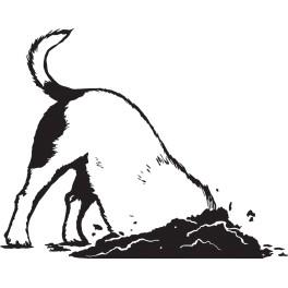 Naklejka pies nr 1316