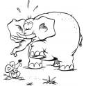 Słoń i mysz