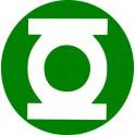 Naklejka Zielona Latarnia