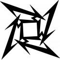Naklejka Metallica logo