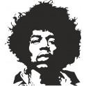 Naklejka Jimi Hendrix