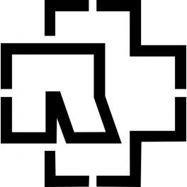 Naklejka logo Rammstein