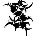 Naklejka logo Sepultura
