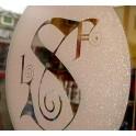 Folia dekoracyjna na szkło Oracal 8810 z efektem szronu
