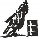 Naklejka rodeo nr 621