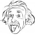 Naklejka Albert Einstein nr 650