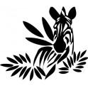 Naklejka zebra nr 672