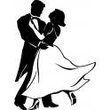 Naklejka tancerze nr 680