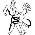 Naklejka tancerze nr 681