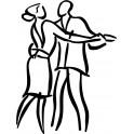 Naklejka tancerze nr 683