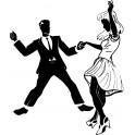 Naklejka tancerze nr 684