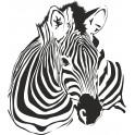 Naklejka zebra nr 703