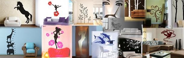 Naklejki dekoracyjne i na ściany